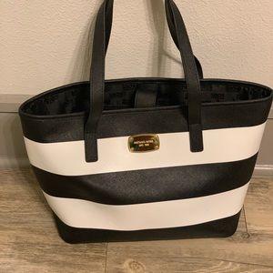 Michael Kors Striped Factory Bag